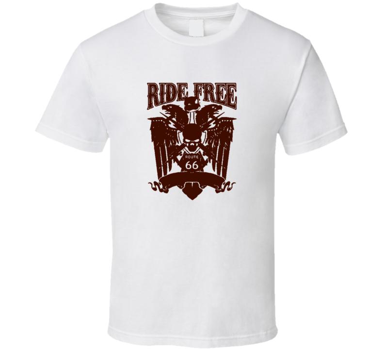 Ride Free Trending Xmas Gift Cool X Mas Gift T Shirt