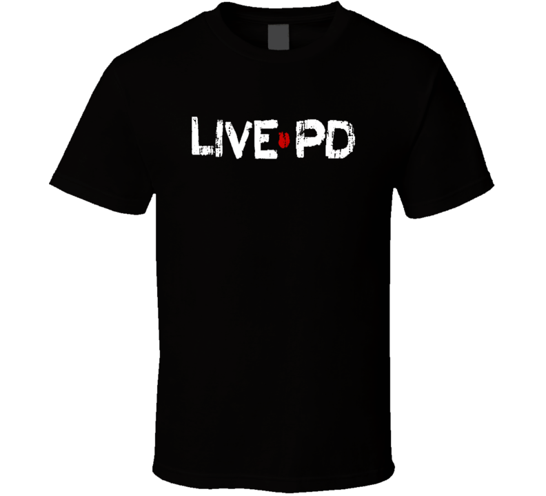 Live Pd Tv Show Cool Worn Look Trending T Shirt