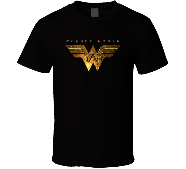 Wonder Woman Cool Trending Movie Worn Look T Shirt