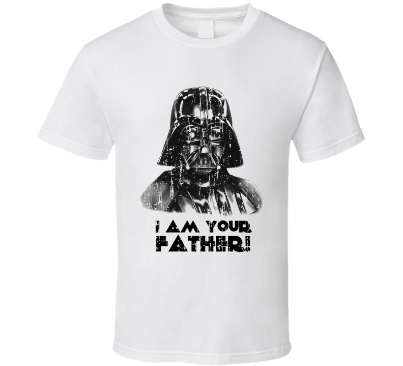 I Am Your Father Star Wars Worn Look Cool Trending Movie T Shirt