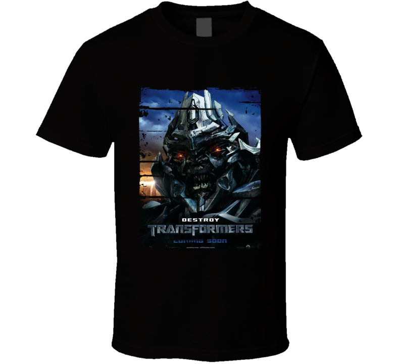 Transformers Destroy Trending Movies Worn Look Cool T Shirt