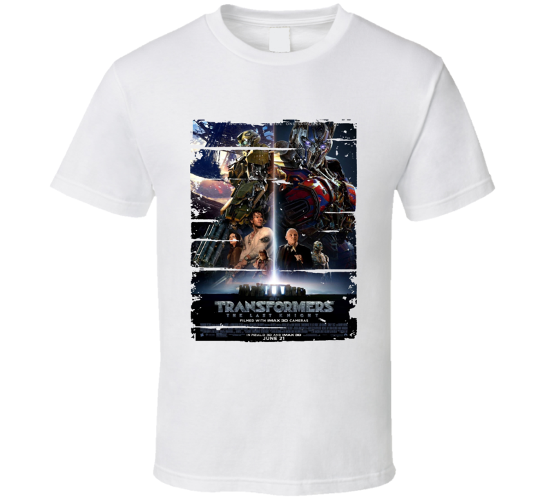 Transformers The Last Knight Trending Cool Movie Worn Look T Shirt