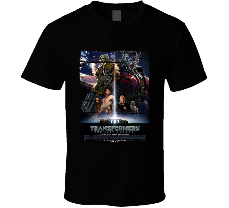 Transformers The Last Knight Trending Movie Cool Worn Look T Shirt