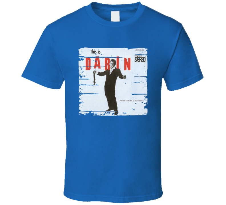 Bobby Darin This Is Darin Worn Look Vintage Music T Shirt