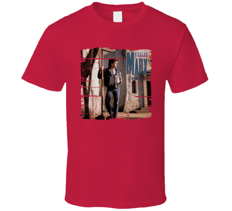 Richard Marx Repeat Offender Worn Look Music T Shirt