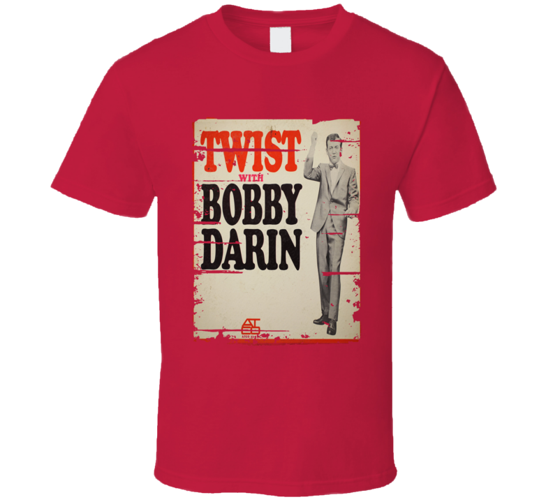 Twist With Bobby Darin Worn Look Vintage Music T Shirt