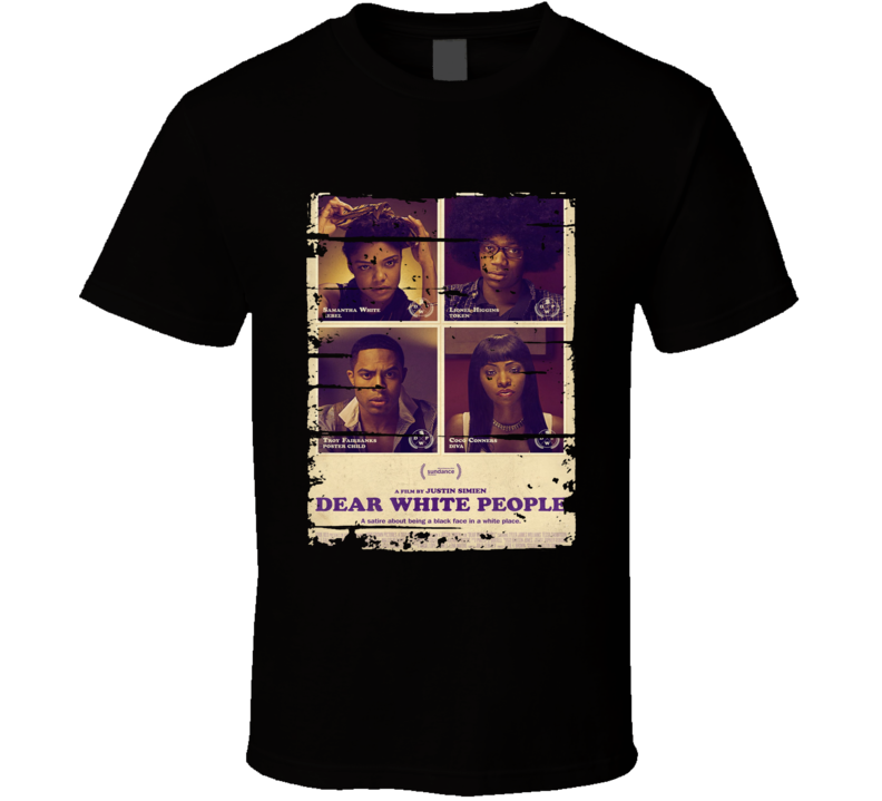 Dear White People Trending Worn Look Tv Show Cool T Shirt