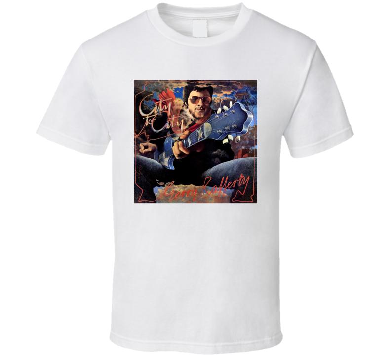 Gerry Rafferty City To City Album Cover T Shirt