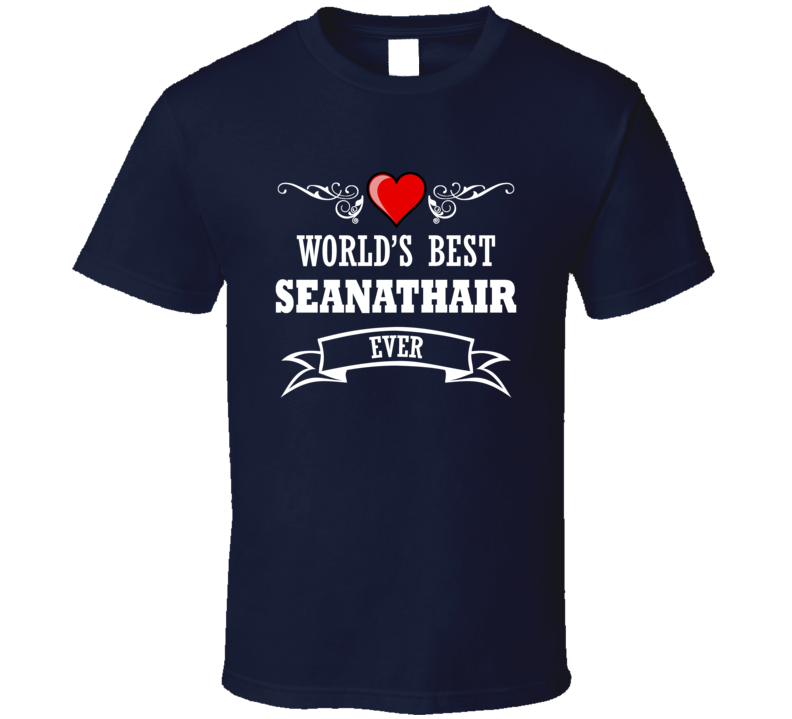 World's Best Seanathair Fathers Day Gift Idea For Grand Father T Shirt