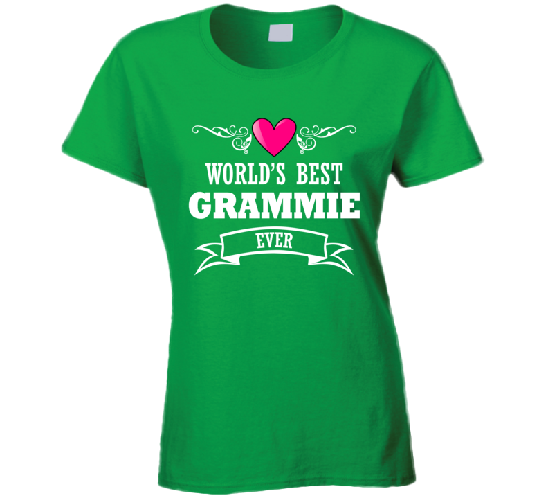 World's Best Grammie  Mothers Day Gift Idea For Grand Mother T Shirt
