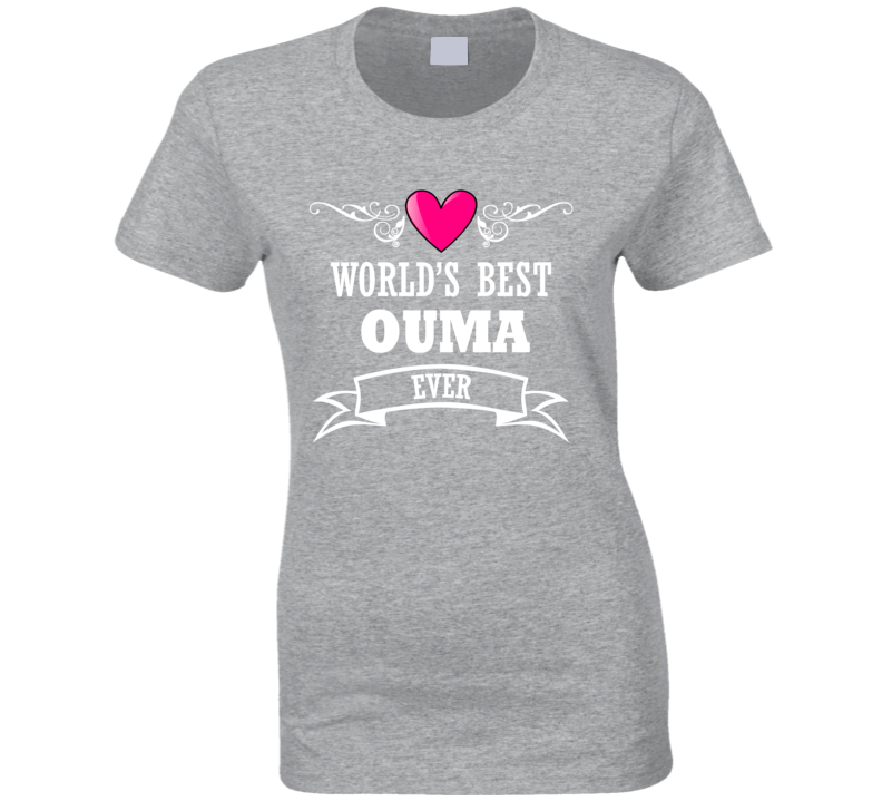 World's Best Ouma  Mothers Day Gift Idea For Grand Mother T Shirt