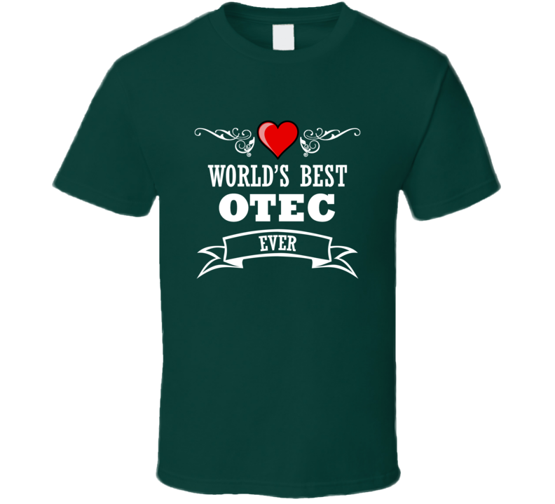 World's Best Otec Fathers Day Gift Idea Awesome  T Shirt