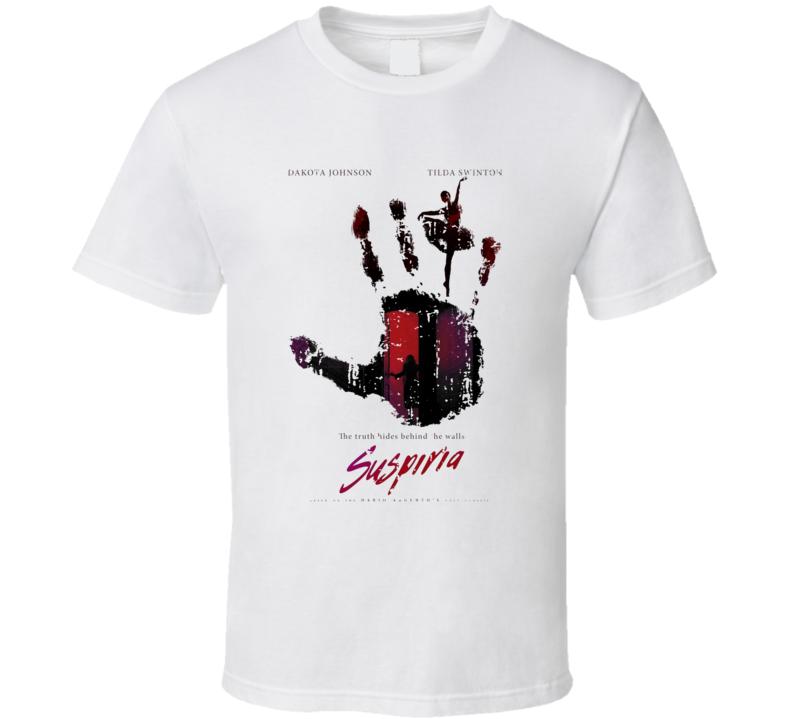 Suspiria Cool 2018 Movie Poster Worn Look T Shirt