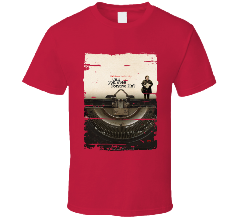Can You Ever Forgive Me 2018 Movie Poster Worn Look T Shirt