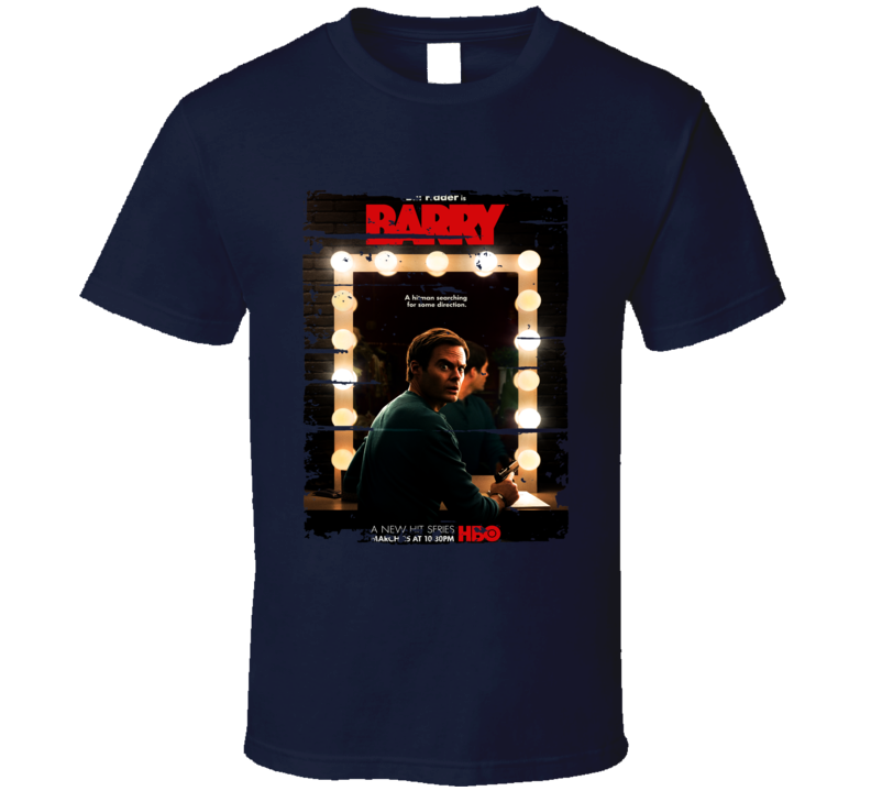 Barry Trending Tv Show Poster Worn Look Series T Shirt