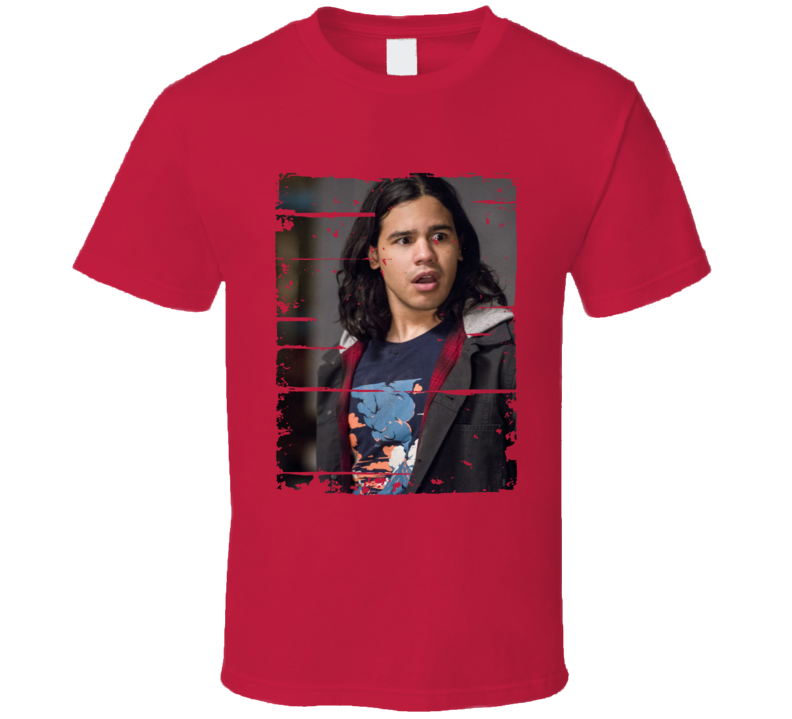 Cisco Ramon The Flash Character Tv Show Worn Look Cool T Shirt