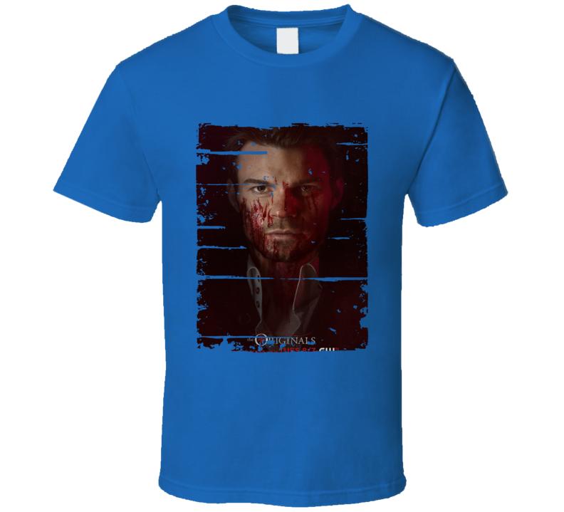 Elijah Mikaelson The Originals Tv Show Worn Look Cool T Shirt