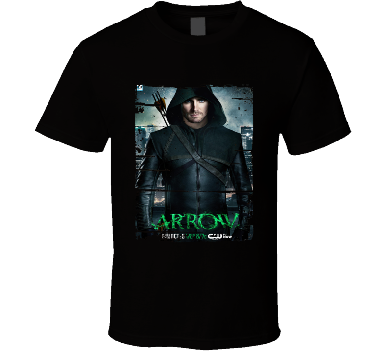 Arrow Season 1 Tv Shows Worn Look Science Fiction Series T Shirt