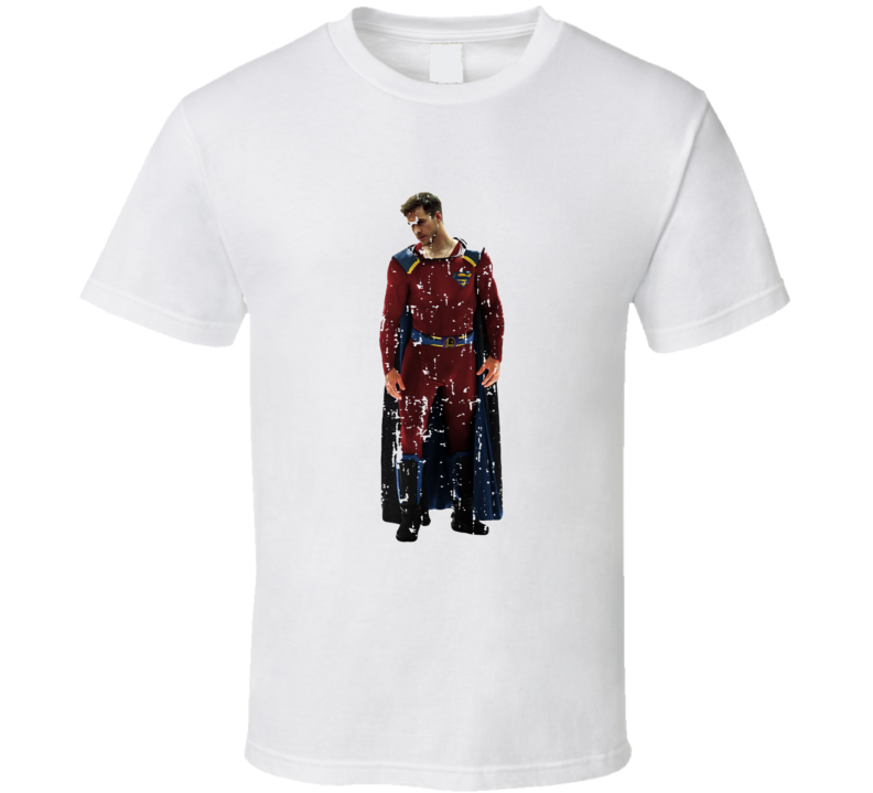 Lar Gand Supergirl Tv Show Worn Look Science Fiction Series T Shirt