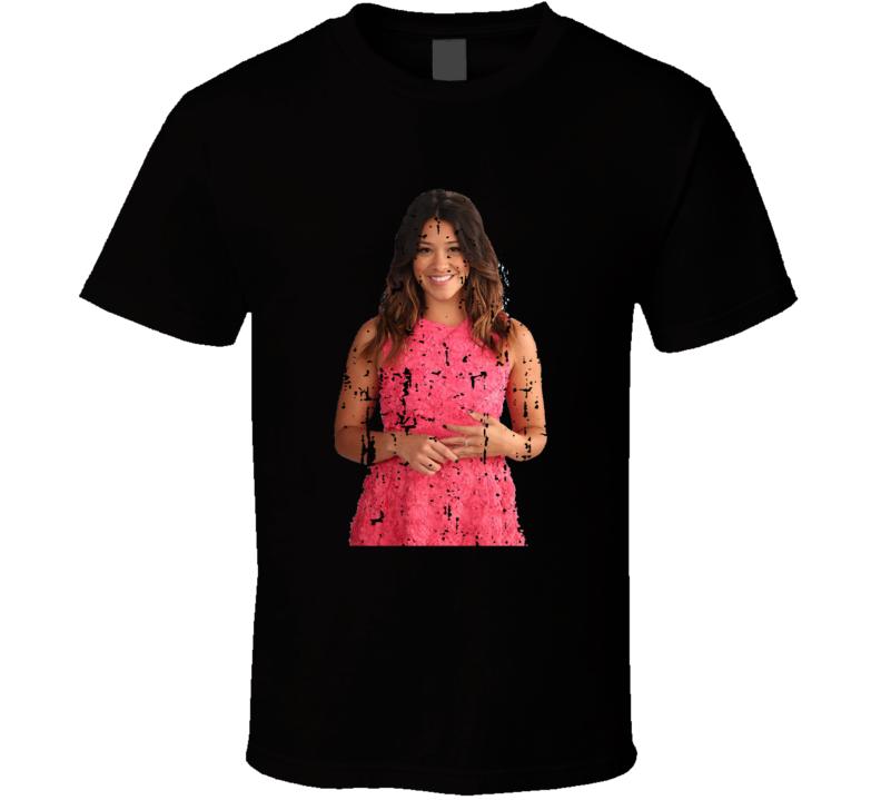 Jane Villanueva Jane The Virgin Tv Show Worn Look Drama Series T Shirt
