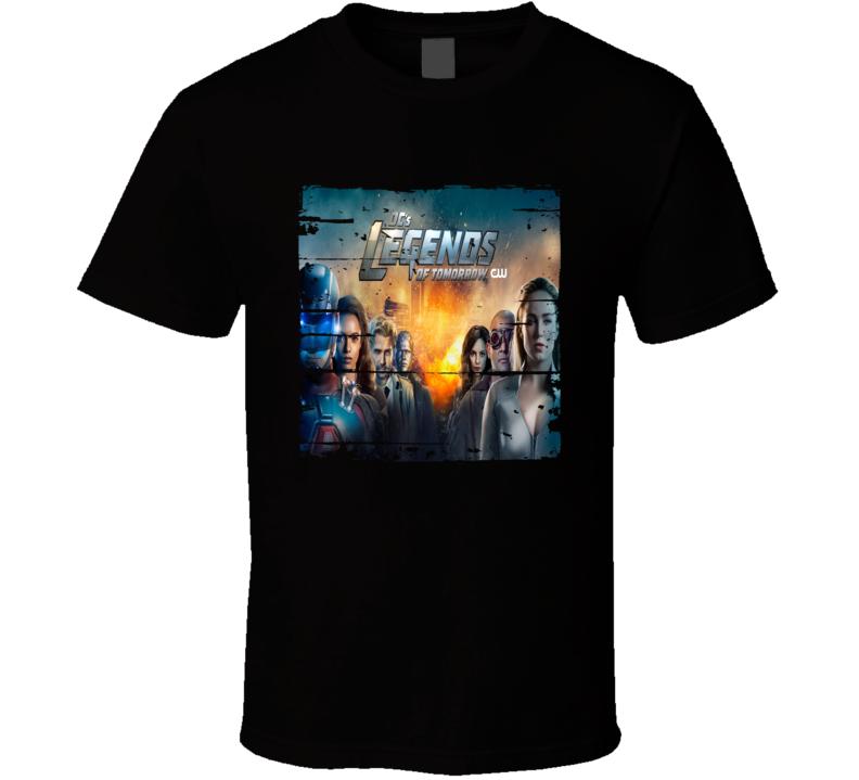 Legends Of Tomorrow Season 4 Tv Show Worn Look Drama Series T Shirt