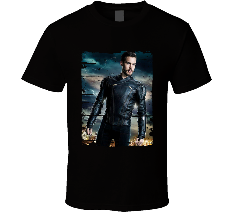 Lar Gand Supergirl Tv Show Worn Look Science Fiction Cool T Shirt