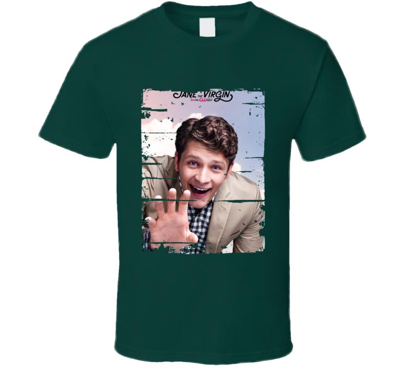 Michael Cordero Jane The Virgin Tv Show Worn Look Drama Series T Shirt