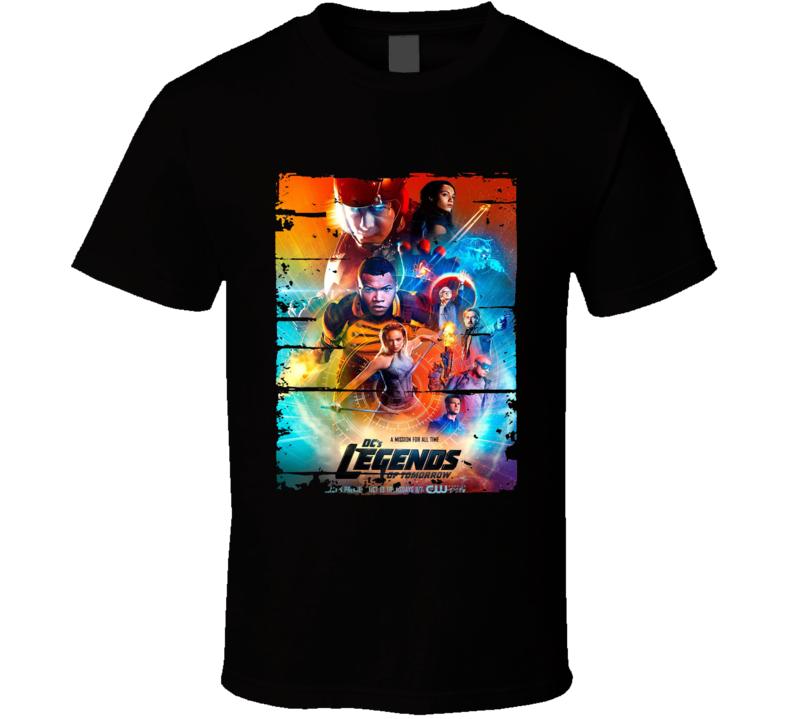 Legends Of Tomorrow Season 2 Tv Show Worn Look Drama Series T Shirt
