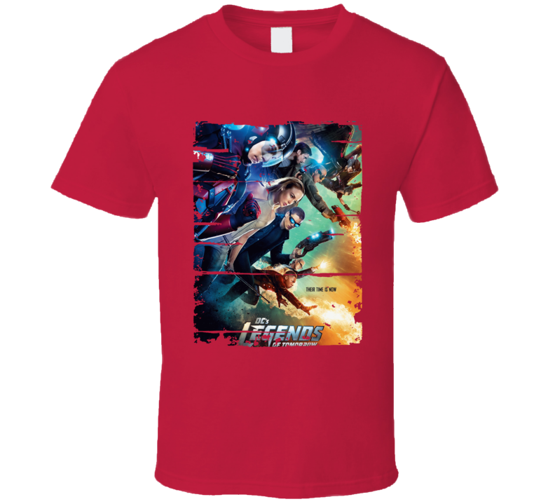 Legends Of Tomorrow Season 1 Tv Show Worn Look Drama Series T Shirt