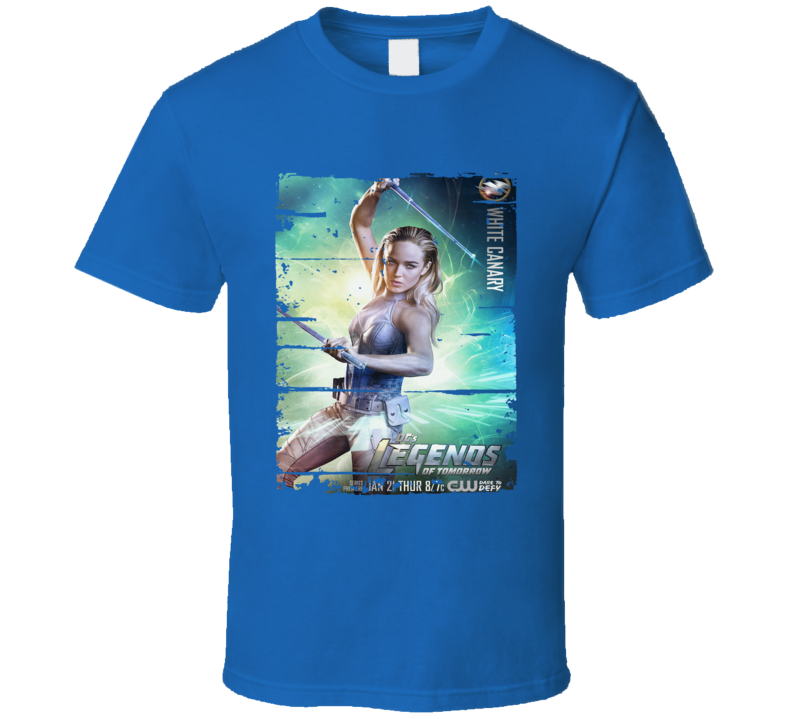 Black Canary Legends Of Tomorrow Tv Show Worn Look Cool T Shirt