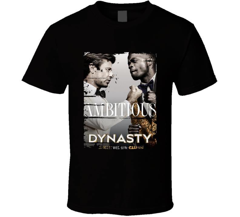 Blake Carrington & Jeff Colby Tv Show Worn Look Drama Series T Shirt