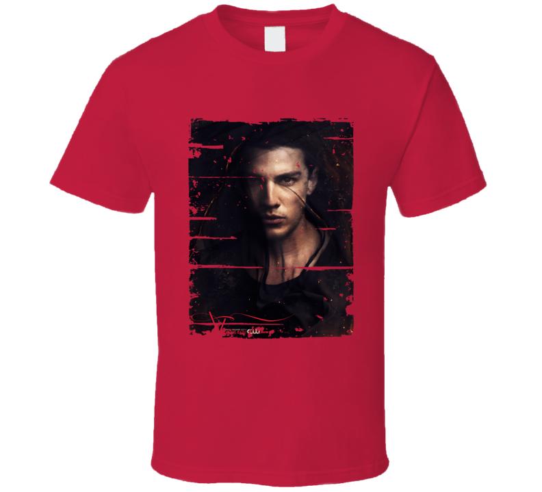 Tyler Lockwod Vampire Diaries Tv Show Worn Look Drama Series T Shirt