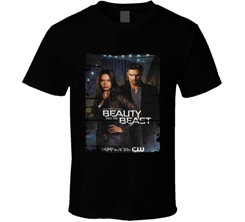 Beauty And The Beast Season 3 Tv Show Worn Look Drama Series  T Shirt