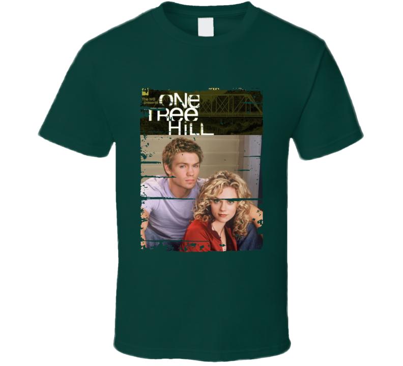 One Tree Hill Season 4 Tv Show Worn Look Drama Series Cool T Shirt