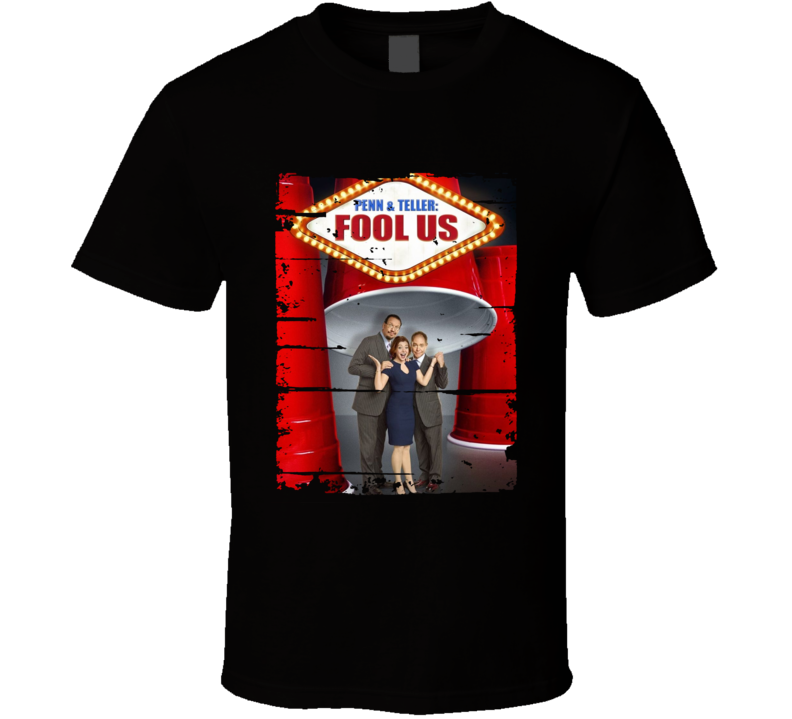Penn & Teller Fool Us Tv Show Worn Look Drama Series Cool T Shirt