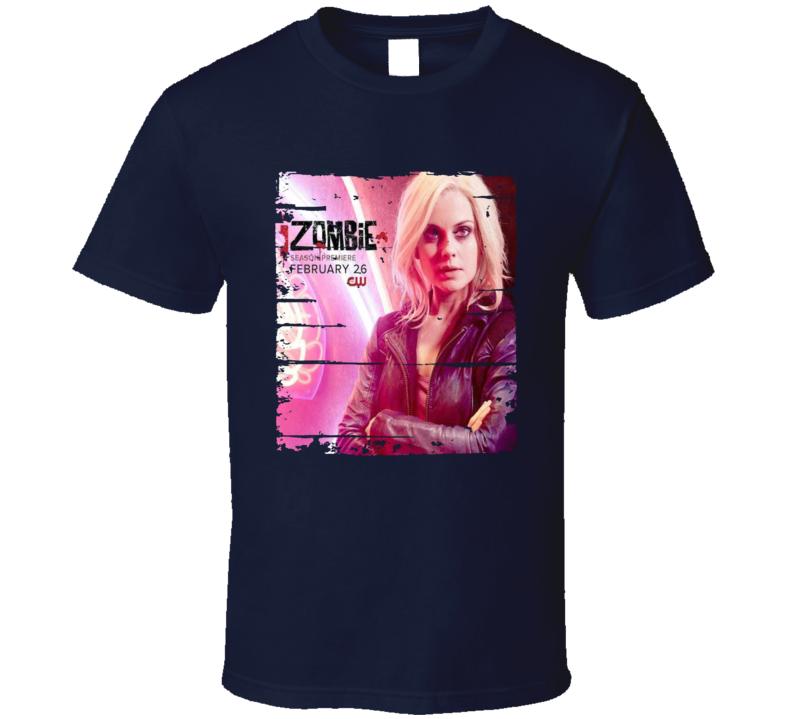 Izombie Season 4 Tv Show Worn Look Drama Series Cool T Shirt