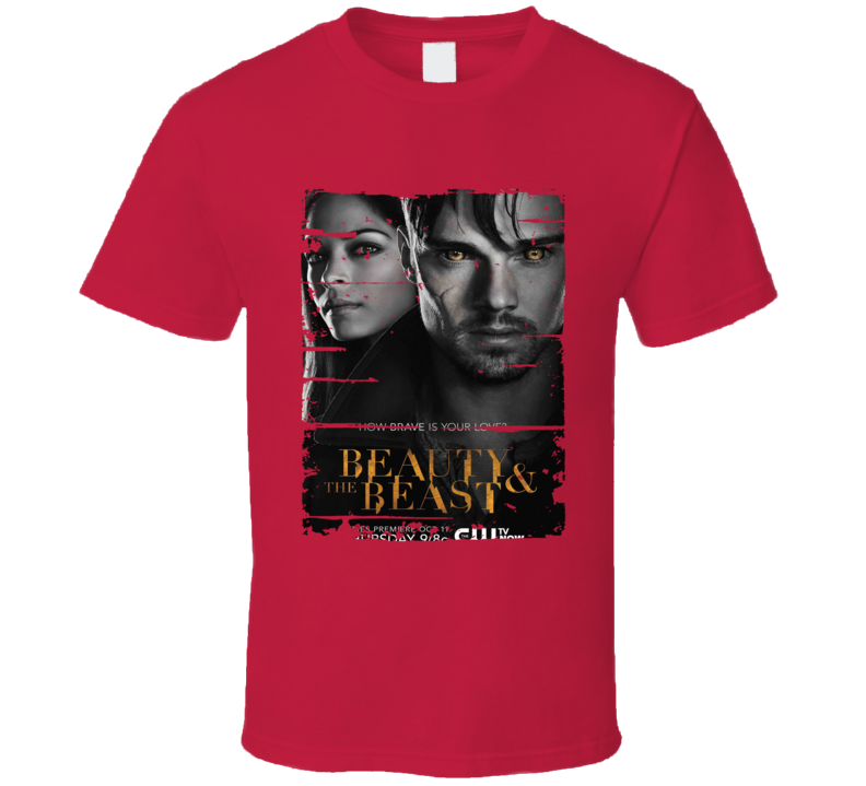 Beauty And The Beast Season 1 Tv Show Worn Look Drama Series  T Shirt
