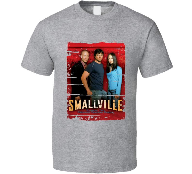 Smallville Season 2 Tv Show Worn Look Drama Series  T Shirt