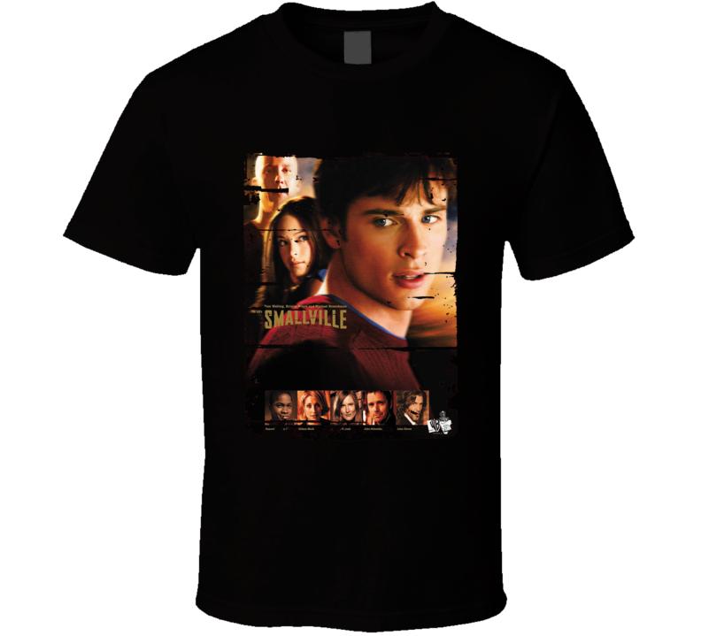 Smallville Season 3 Tv Show Worn Look Drama Series Cool T Shirt