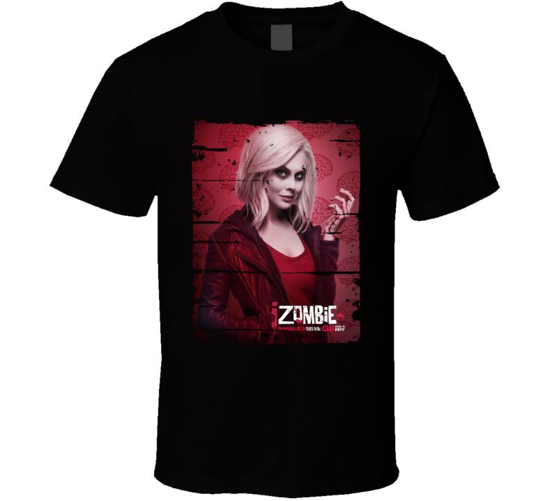 Izombie Liv Moore Tv Show Worn Look Horror Fiction Seriest Shirt