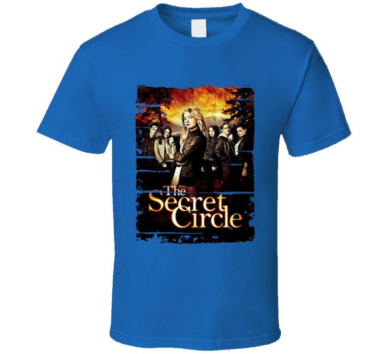 Thesecretcircle Season 1 Tv Show Worn Look Drama Series T Shirt