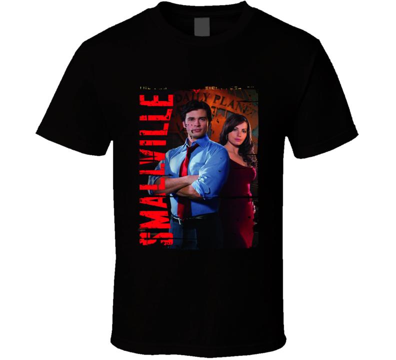Smallville Season 8 Tv Show Worn Look Drama Series  T Shirt