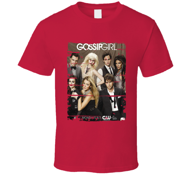 Gossip Girl Season 3 Tv Show Worn Look Drama Series  T Shirt