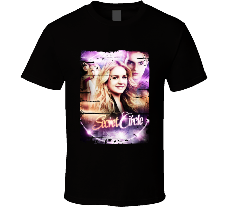 Thesecretcircle Season 1 Tv Show Worn Look Drama Series Cool T Shirt
