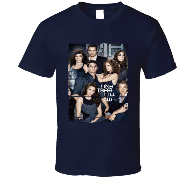 One Tree Hill Season 9 Tv Show Worn Look Drama Series Cool T Shirt