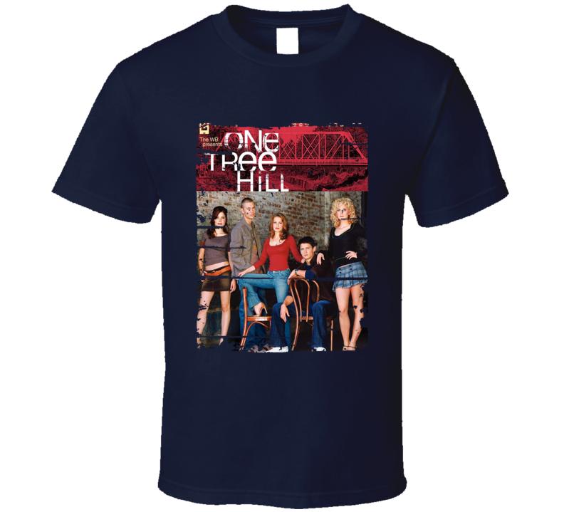 One Tree Hill Season 2 Tv Show Worn Look Drama Series Cool T Shirt