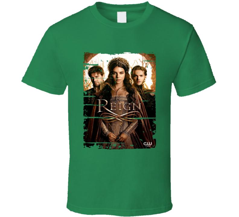 Reign Season 1 Tv Show Worn Look Historical Romance Series T Shirt