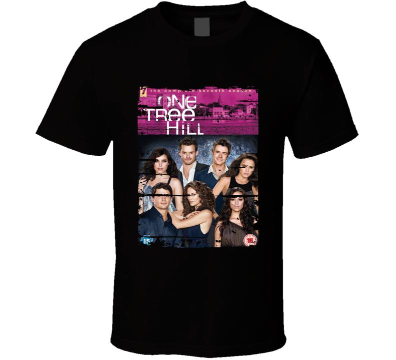 One Tree Hill Season 7 Tv Show Worn Look Drama Series Cool T Shirt