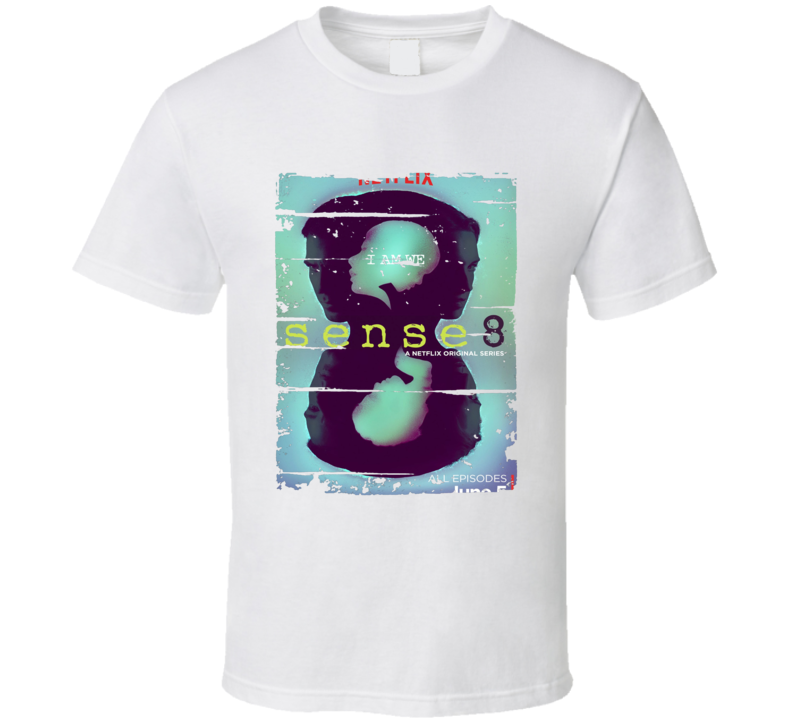 Sense8 Worn Look Tv Show Cool Series T Shirt