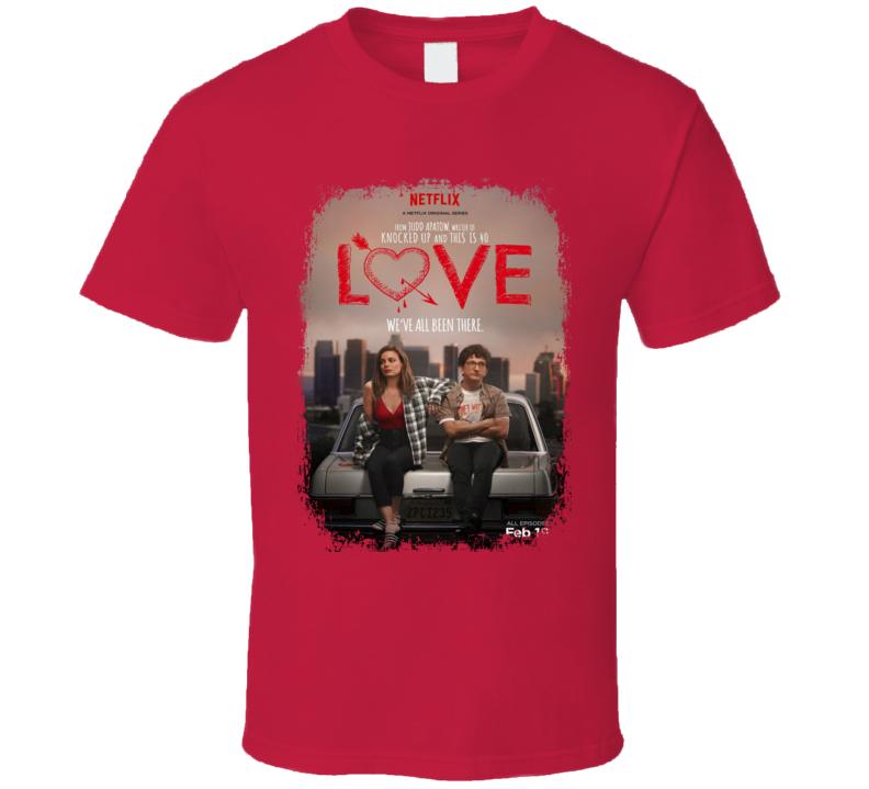 Love Worn Look Tv Show Cool Series T Shirt
